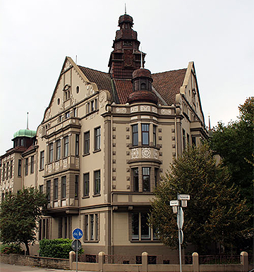 Motiv: Gebäude Steuerberater